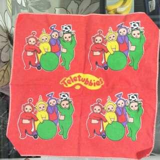 Teletubbies pocket square handkerchief