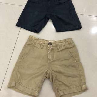 2pcs Padini Boy Short Pants (2-3years)