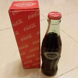 玻璃樽可樂沙田開廠10週年版