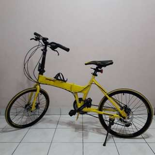 Mongoose Folding Bike