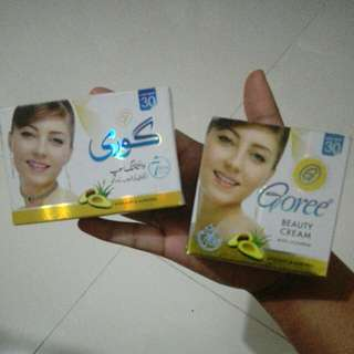 PROMO: Goree whitening soap & cream