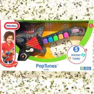 Poptunes toddler guitar
