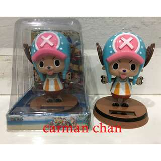 ONE PIECE CHOPPER CARTOON SOLAR POWERED DANCING FLIP FLAP FOR HOME CAR TOY