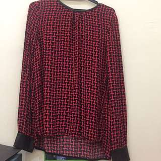Zara woman blouse