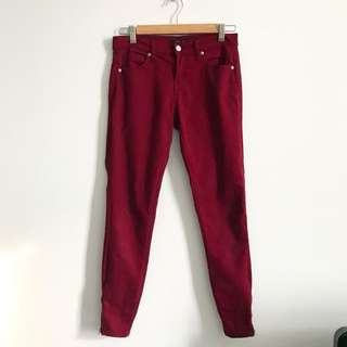 Forever 21 Maroon Jeans
