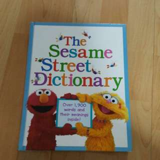 The Sesame Street Dictionary (Hardcover)