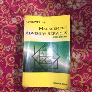 Reviewer in Management Advisory Services
