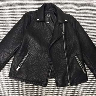 REPRICED! Leather Jacket Forever 21