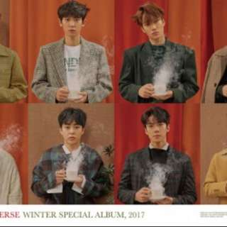 EXO Universe Special Winter Album OFFICIAL POSTER