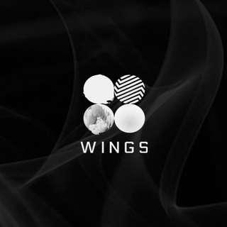 Bts Wings Album W/I/N/G random ver