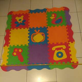Puzzle Mat for Baby & Toddler