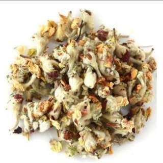 $6 for 100g dried apple floral tea buds