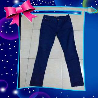 Celana Panjng Bhn Semi Jeans