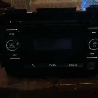 Pioneer Car Audio from Honda car