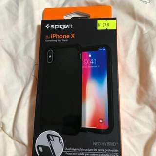 IPhone X case Spigen case