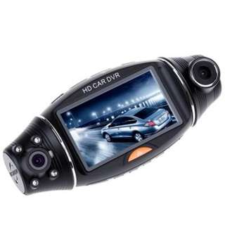 2.7 INCH R310 270 DEGREE TFT LCD DUAL 2 LENS DASH HD DVR CAR KIT CAMERA VIDEO RECORDER