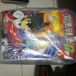 taiwan comic 摺紙戰士g 全套19本
