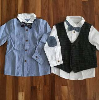 BN Mothercare Boy Shirts (12 - 18 months)