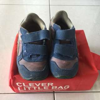 Boy first shoes
