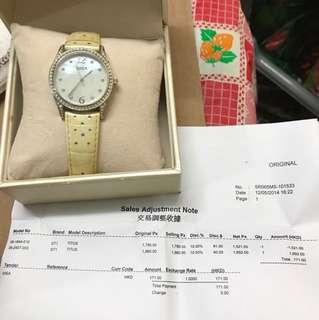 SOLVIL TITUS 女裝錶(連盒單)