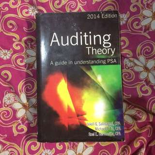 Auditing Theory 2014 Edition