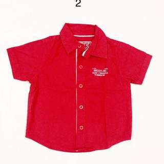 Guess Red Polo for Boys