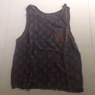 #CNY2018 PEACE RIPPED TANK