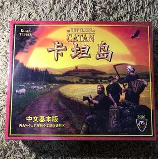 Bnib board game the settlers of catan