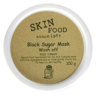 Skinfood, Black Sugar Mask Wash Off, 100 g