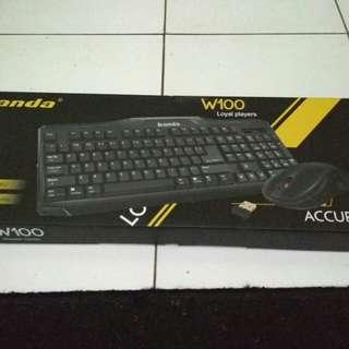 Keyboard wireless baru