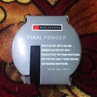 Nichido Final/Setting Powder (New)
