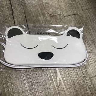 Body shop grey polar bear sleeping mask