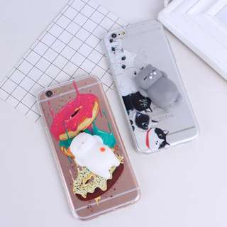 Casing Handphone - Squishi Cover For iPhone