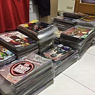 Assorted DC Comic Books