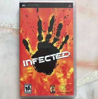 Infected PSP UMD
