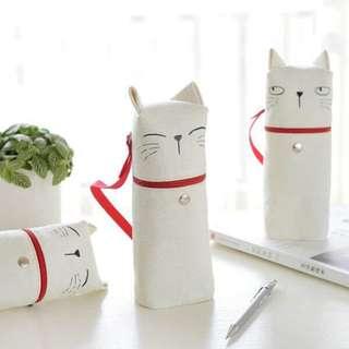 Standing cat pencil case - Binow Australia