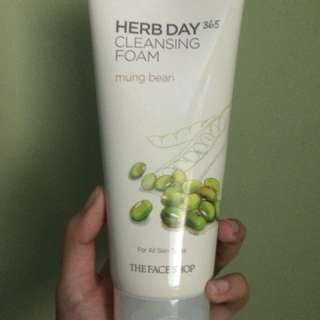 Mung Bean Cleansing Foam