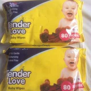 Tender Love Baby Wipes