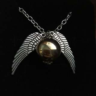 Harry Potter The Golden Snitch, Quidditch, Necklace