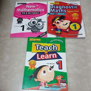 Primary 1 mathematics assessment books