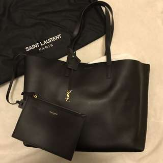 YSL Tote Bag Black