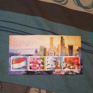 Singapore stamps. National day. A set of 4.