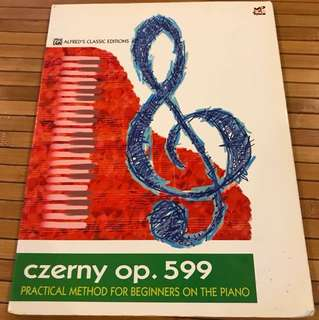 Czerny op.599 Practical Method for Beginners on The Piano