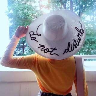 Handmade sequin floppy hat