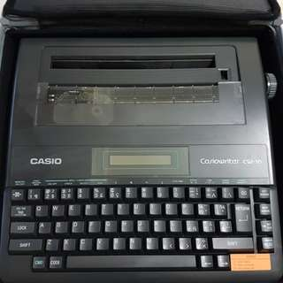 Vintage Retro 1984 Casio CW-16 Electronic Type writer