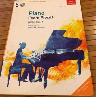 ABRSM Grade 5 Piano Exam Pieces