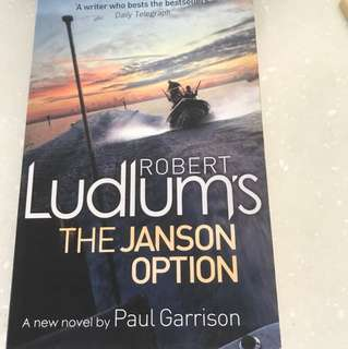 Robert Ludlum's The Janson Option By Paul Garrison - Special Offer!