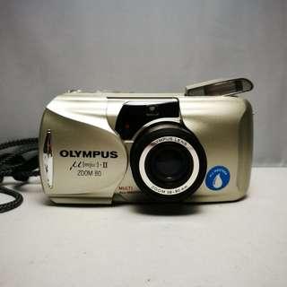 Olympus mju2 zoom 80 film camera