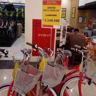 Sepeda united bisa dicicil