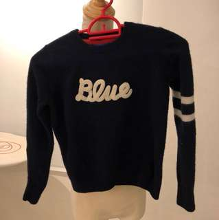 Burberry blue label sweater
